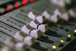 mixing board faders